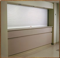 Rolling Counter Doors